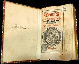 Luther's Large Catechism cover