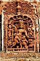 Devi Durga teracota, Kantanagar Temple.jpg