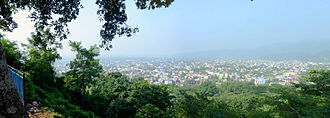Dharan, Nepal - Dharan city from Buda Subba height 2013