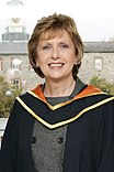 Diarmuid Hegarty, President of Griffith College with Mary McAleese, President of Ireland (cropped).jpg
