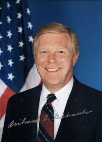 2004 Iowa Democratic caucuses - Image: Dick Gephardt color
