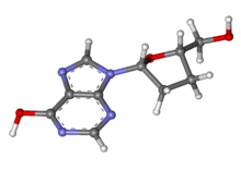 Didanosine ball-and-stick.png