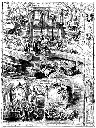 Theodor Hosemann - Image: Die Heinzelmännchen (Kopisch, Hosemann)