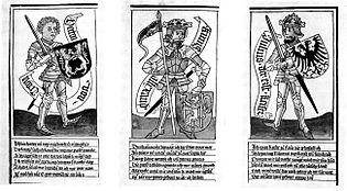 Die neun Helden - Drei heidnische Helden