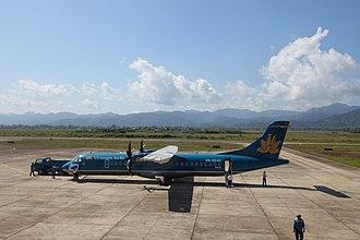 Điện Biên Phủ Airport - Image: Dien Bien Phu Airport aux 3