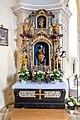 Diex Pfarrkirche hl. Martin linker Seitenaltar Statue der Mondsichelmadonna 26052017 8710.jpg