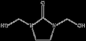 Dimethylol ethylene urea - Image: Dimethylol ethlyene urea