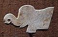 Dinastia shang, elefante in giada, XIII-XI secolo ac ca.jpg