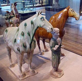 Tang dynasty tomb figures