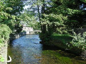 Bruche (river) - The Bruche at Dinsheim-sur-Bruche.
