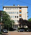 """Dipartimento di Farmacologia """"Emilio Trabucchi"""" facade, UNIMI - Via Luigi Vanvitelli (angolo piazza D. Aspari), Milano.jpg"""