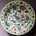 Dish, Turkey, Iznik, late 1500s to early 1600s, ceramic - Museum of Anthropology, University of British Columbia - DSC09017.jpg