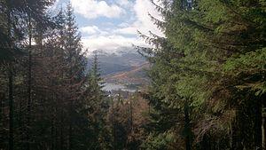 Lochgoilhead - Distant view of Lochgoilhead