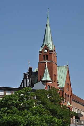 schedische Kirche in Hamburg