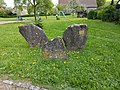 Dittigheim Kulturdenkmal 35 Einfassungssteine um 600 v. Chr. - 3.jpg
