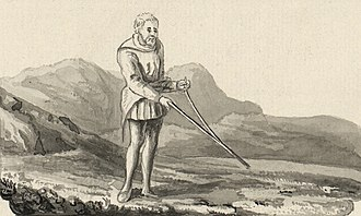 Dowsing - Use of a divining Rod observed in Britain in the late 18th century