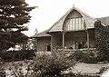 Dobsina 1927, Szontagh house, Porch Fortepan 95687.jpg