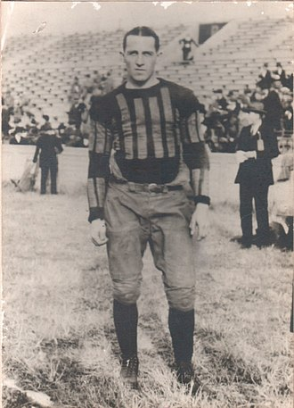 1923 Vanderbilt Commodores football team - Captain Doc Kuhn on opening day.