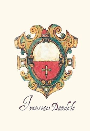 Francesco Dandolo - Francesco Dandolo's coat of arms