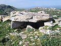 Dolmen du Djebel Gorra. Thibar1. Tunisie.JPG