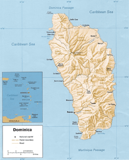 Geography of Dominica