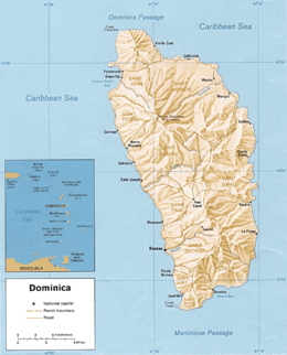 Geography of Dominica Wikipedia