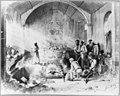 Dominican Republic, 1871)- Superestitious burial ceremony in the Capilla del Rosario - a remnant of the city of Nueva Isabella, opposite Santo Domingo City LCCN2003655461.jpg