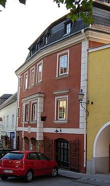 Geburtshaus von Liszts Mutter in Krems (Quelle: Wikimedia)