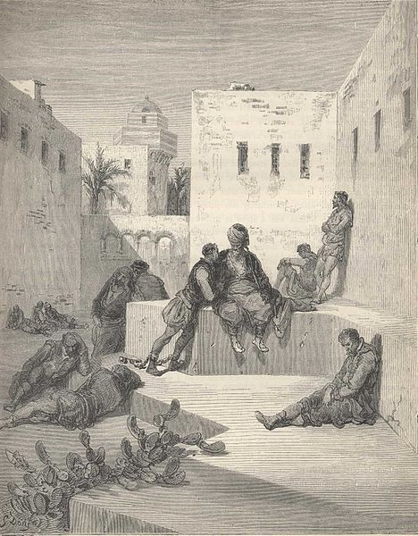 File:Don Quijote illustrated by Gustav Dore II.jpg