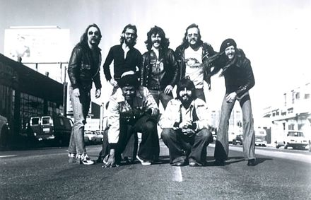 The Doobie Brothers with the addition of Michael McDonald in 1976 Doobie Brothers 1976.JPG