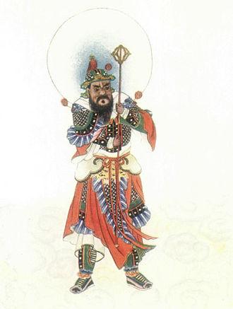 Menshen - Image: Door god Civil Project Gutenberg e Text 15250