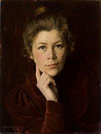 Dora Wahlroos - Self-Portrait (1901).jpg