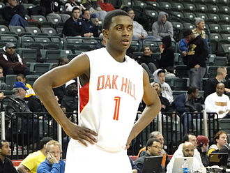 Doron Lamb - Lamb in action with Oak Hill Academy