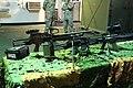 Dos ametralladoras ligeras FN Minimi y un fusil de asalto H&K G-36E de la Infantería de Marina española (34292841123).jpg