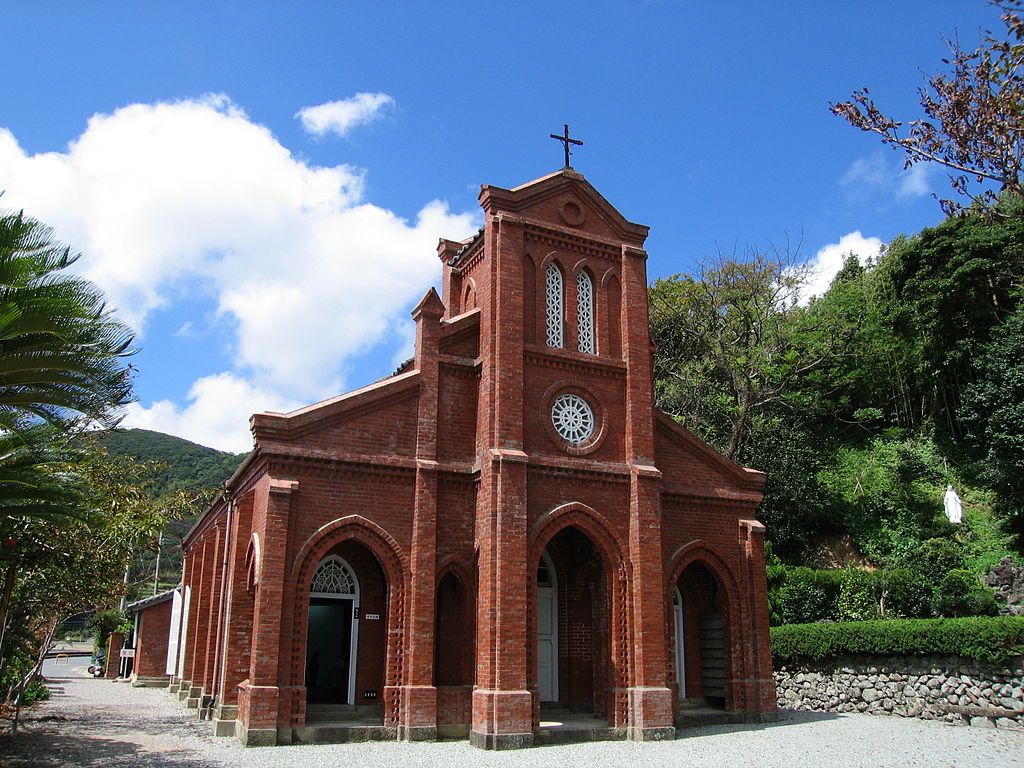 Douzaki Church in Nagasaki