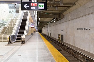 Downsview Park station Toronto subway station
