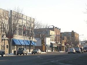 Little Falls, Minnesota - Downtown Little Falls