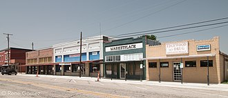 Edgewood, Texas - Downtown Edgewood