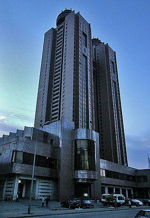 Koryo Hotel - Entrance to the hotel