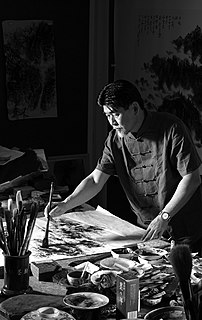Cheng Haw-Chien Malaysian painter