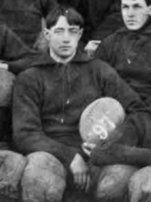 James Morrison (American football) - Morrison pictured as captain of the 1897 Virginia football team