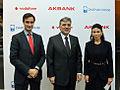 Dr Robin Niblett, President Abdullah Gül and Suzan Sabanci Dincer (6672626609).jpg