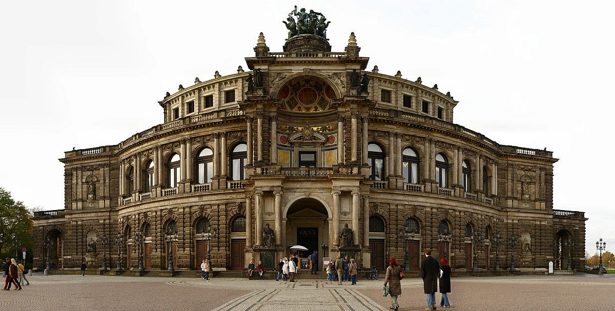 semperoper wikip dia. Black Bedroom Furniture Sets. Home Design Ideas
