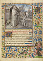 Dreux Jean (Flemish, active 1445 - about 1446) - A Young Knight in Armor Kneeling in Prayer before Saint Anthony - Google Art Project.jpg