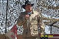 Drew Carey At Al Asad Iraq 09 28 03.JPG
