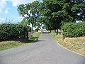 Driveway to Woolah - geograph.org.uk - 211079.jpg