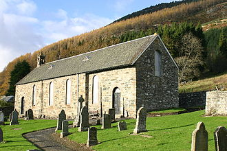 Dull, Perth and Kinross - Image: Dull church