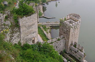 Golubac Fortress - View from the eastern tower