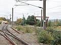 Dunbar railway station, East Lothian - old siding south-west.jpg