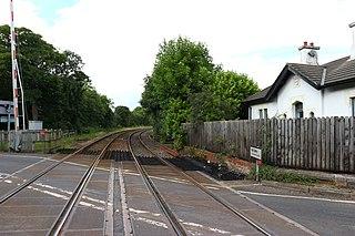 Seaham Hall Dene railway station Disused railway station in Seaham, County Durham